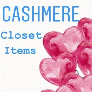 The Following Listings are Cashmere Items.